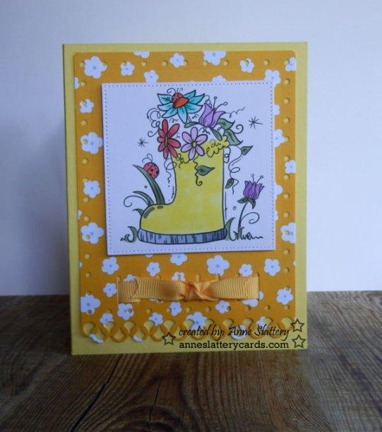 Flower-Boot-yellow